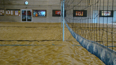 Indoor Sand Volleyball
